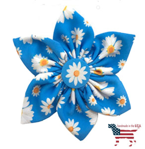 Peace And Love Collar Pinwheel Collection - 4 Styles Small 2.5 / Flower Child Bows Neckware