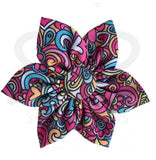 Peace And Love Collar Pinwheel Collection - 4 Styles Small 2.5 / Pop Art Bows Neckware