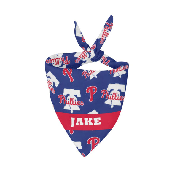 Philadelphia Phillies Premium Bandana Pet