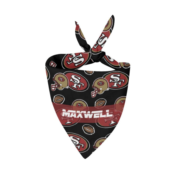 San Francisco 49Ers Premium Bandana Pet
