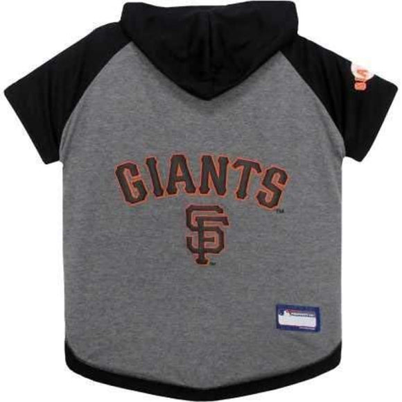 San Francisco Giants Lightweight Pet Hoodie Extra Small / Blank Mlb