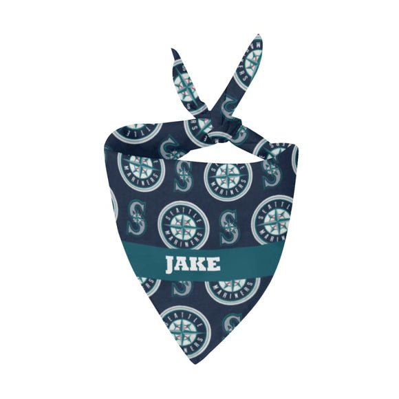 Seattle Mariners Premium Bandana Pet