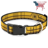 Star Wars C3-Po Collar And Leash Narrow / Small Collars