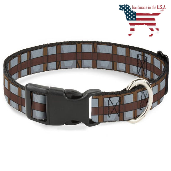 Star Wars Chewbacca Bandolier Bounding Collar And Leash Narrow / Small Collars