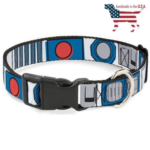Star Wars R2-D2 Collar And Leash Narrow / Small Collars