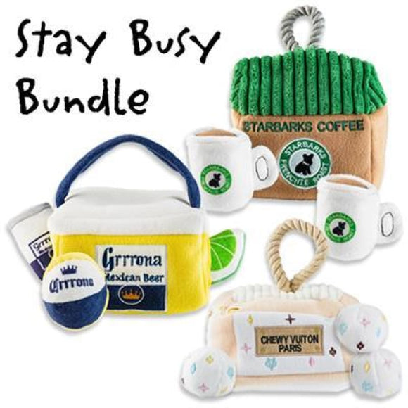 Stay Busy At Home Plush Care Package Toy