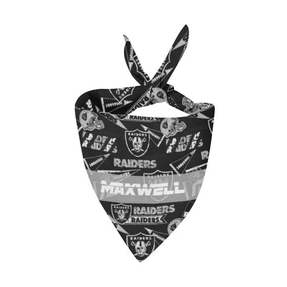 Vegas Raiders Premium Bandana Pet