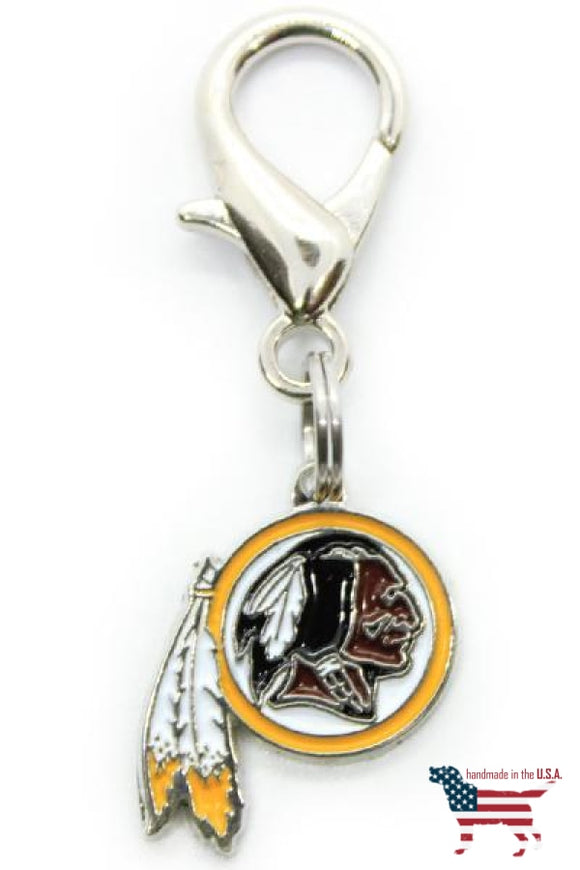 Washington Redskins NFL Licensed Dog Collar Charm Diva Dog 3 Red Rovers
