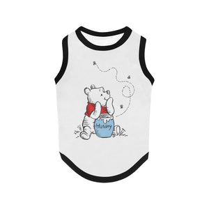 Winnie The Pooh Retro Pet Tank Clothing & Accessories