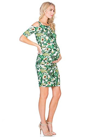 My Bump Avocado Maternity Dress