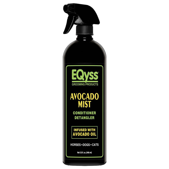 EQyss Avocado Horse Grooming Mist Conditioner: 16 oz