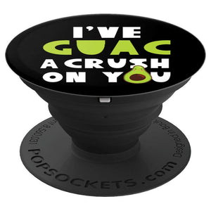 Avocado PopSocket for Phones and Tablets (I've Guac A Crush On You)