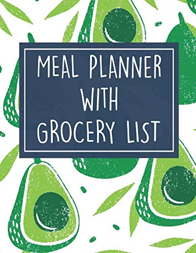Avocado 52 Week Meal Planner with Grocery List Journal