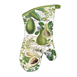 Michel Design Works Avocado Padded Cotton Oven Mitt