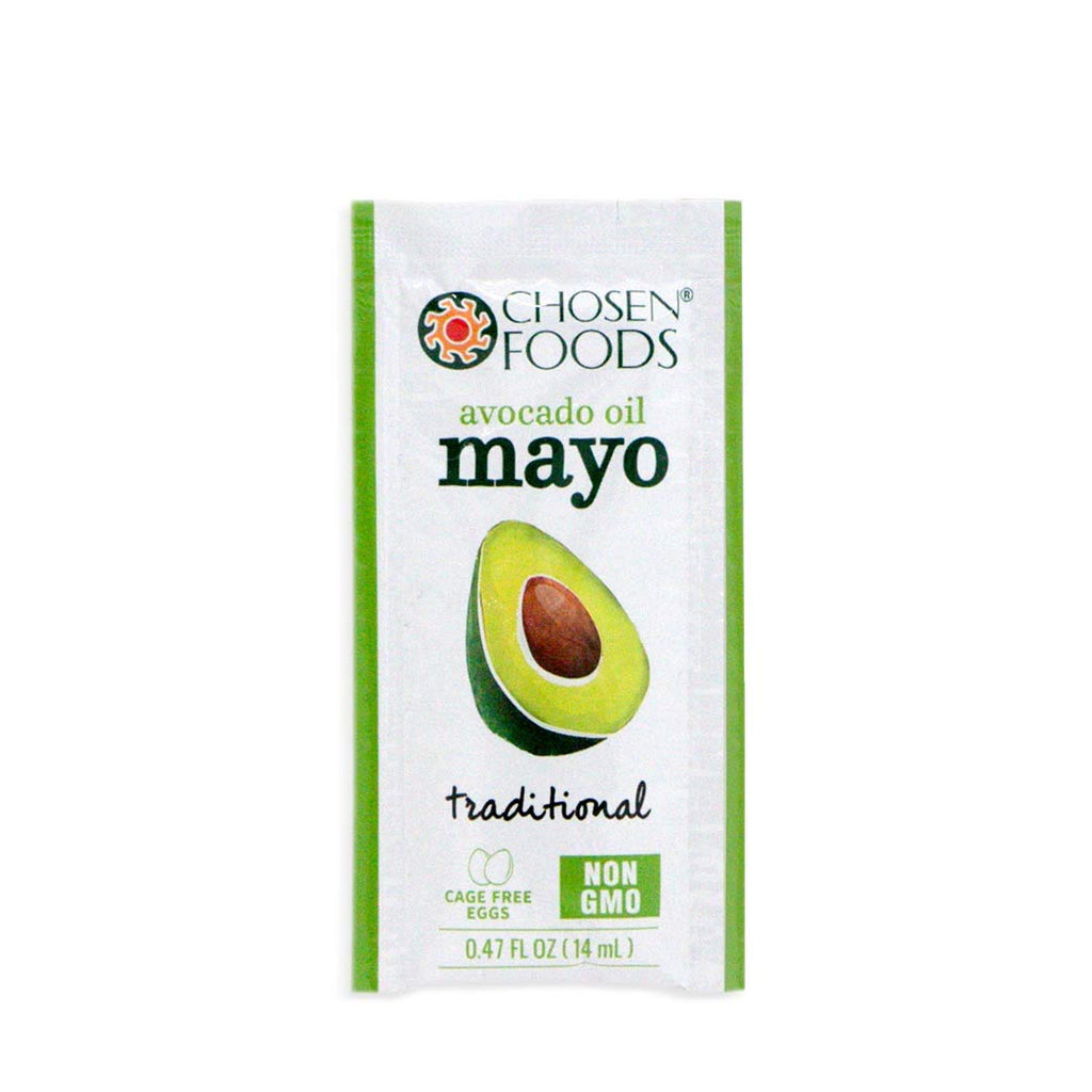 Chosen Foods Avocado Oil Based Mayo Packets: 8 Pack