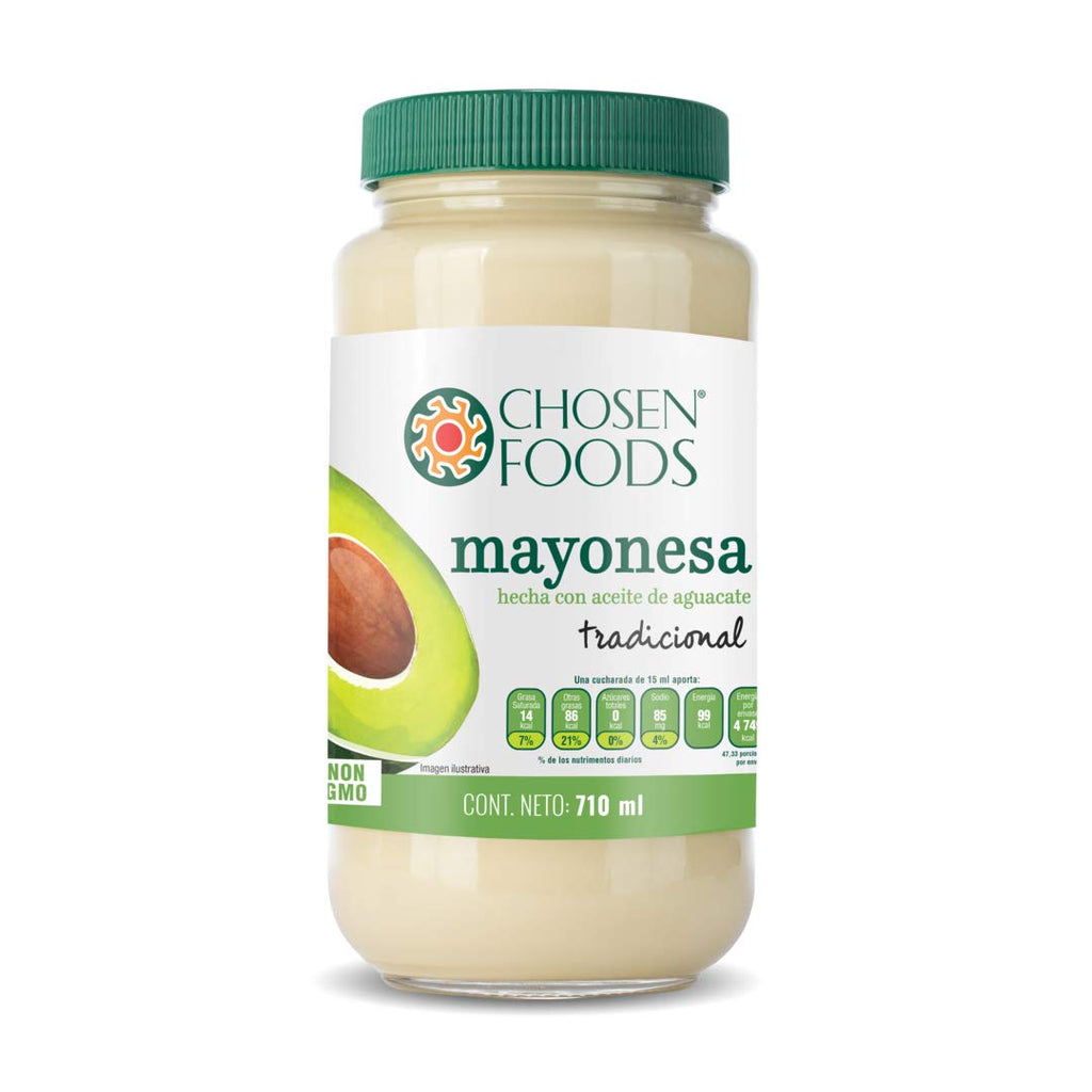 Chosen Foods Avocado Oil Based Traditional Mayo: 24 oz