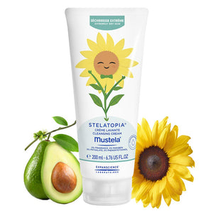 Mustela Baby Stelatopia Cleansing Cream for Eczema Prone Skin