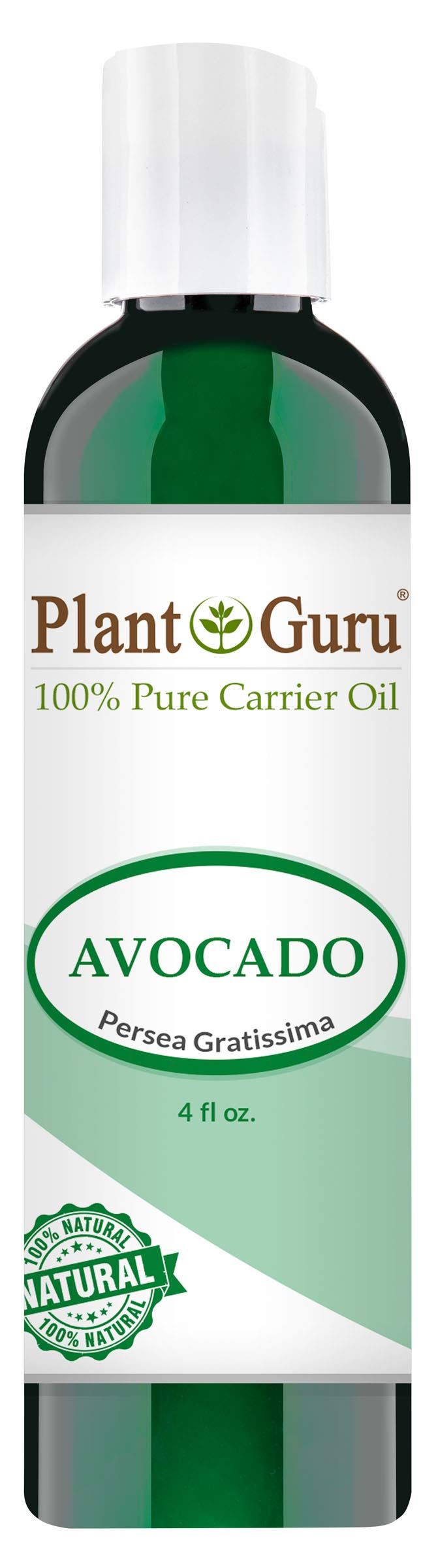Avocado Cold Pressed Carrier Oil: 4 oz
