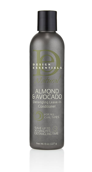 Design Essentials Avocado & Almond Leave-In Conditioner For Curly Hair