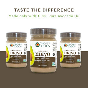 Chosen Foods Avocado Oil Based Black Garlic Mayo