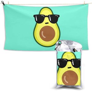 Avocado Pool Beach Fast Dry Microfiber Towel