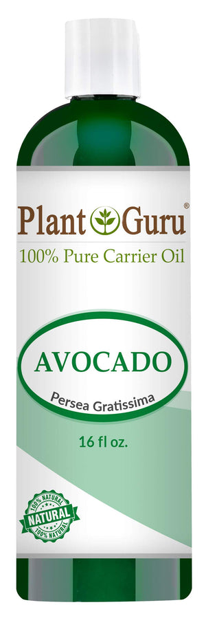 Avocado Cold Pressed Carrier Oil: 16 oz