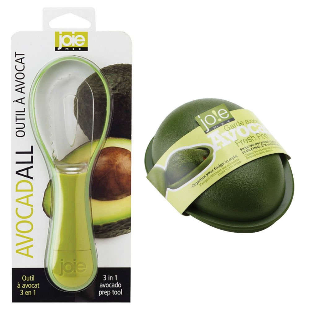 Joie Fresh Avocado Keeper and 3-in-1 Tool Combo