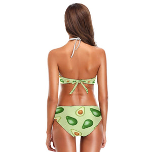 ZZKKO Avocado Bikini 2 Piece Swimsuit