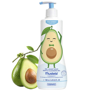 Mustela Avocado Body and Hair Cleansing Gel: Ltd Edition
