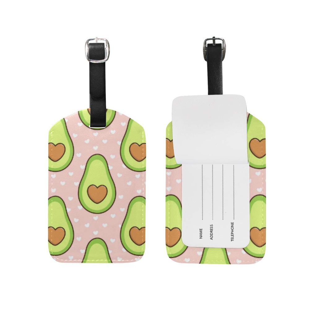MOYYO Avocado Luggage Tags (2 Pcs)