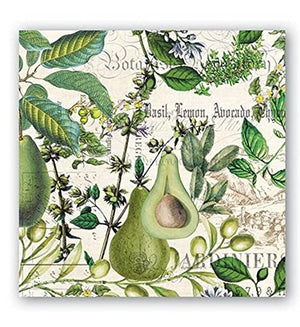 Michel Design Works Avocado 3-Ply 20-Count Paper Napkins