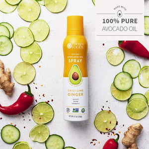 Chosen Foods Chili-Lime Ginger Avocado Blend Oil Spray: 4.7 oz