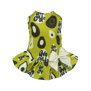 Fitwarm Avocado Dog Clothes Dress: Various Sizes