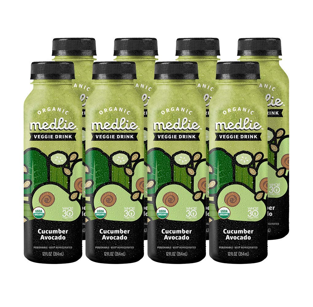 Medlie Cucumber Avocado Veggie Drinks (8 Pack)