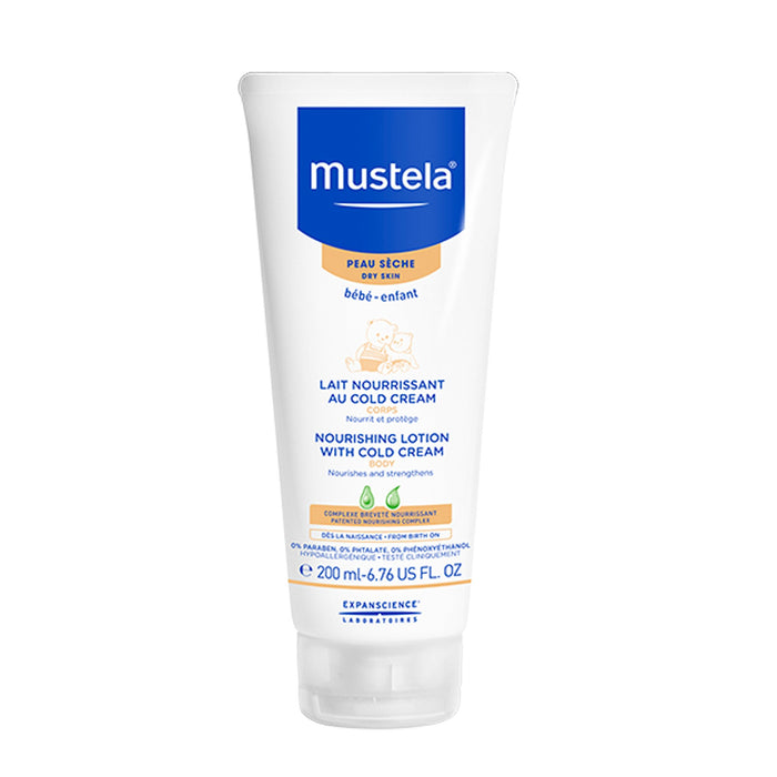 Mustela Baby Nourishing Body Lotion for Dry Skin