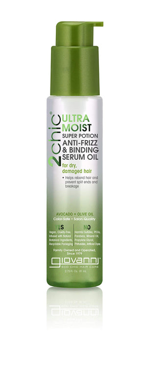 Giovanni 2Chic Avocado and Olive Oil Anti Frizz Binding Serum