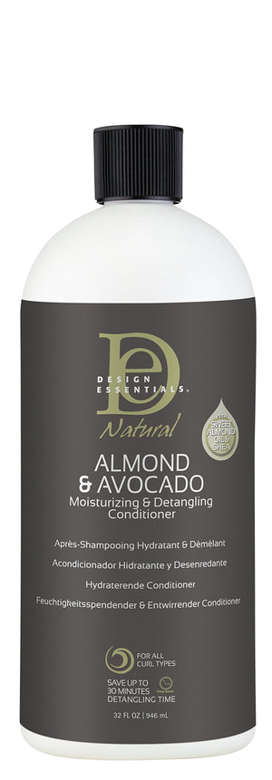 Design Essentials Avocado & Almond Hair Conditioner For Curly Hair