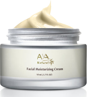 Aya Natural Anti Aging Face Moisturizer Day Cream for Dry Skin