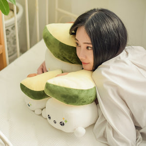 Choba Avocado Soft Toy Plush: 10""