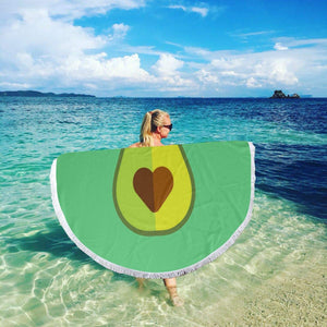 Avocado XL Pool Beach Towel Blanket (Perfect for 2)