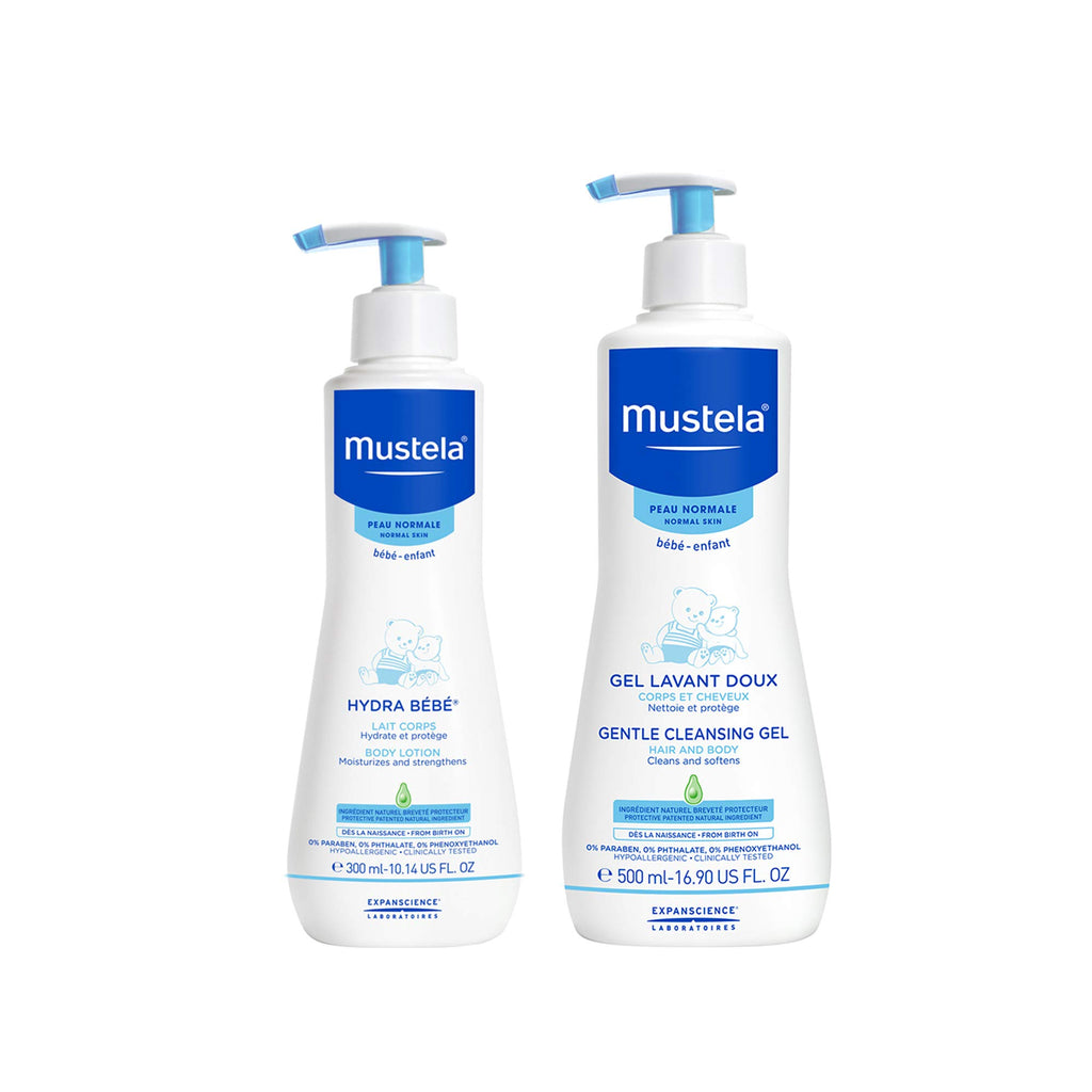 Mustela Baby Bath Time Gift Set for Normal Skin