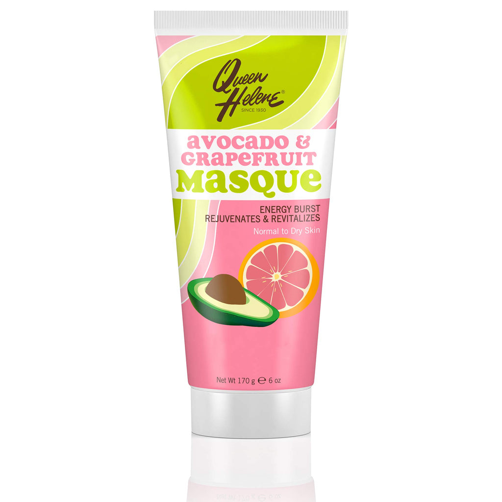 Queen Helene Avocado and Grapefruit Clay Face Masque