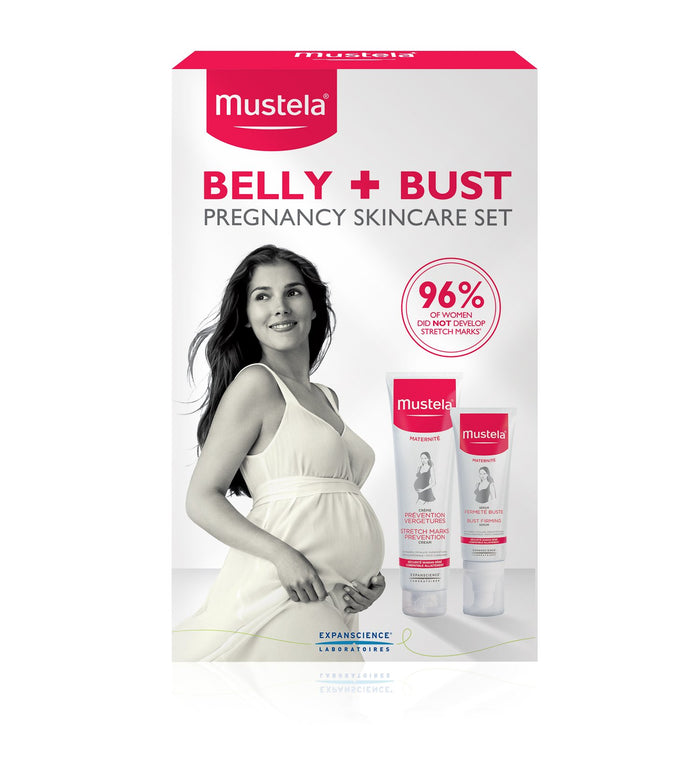 Mustela Pregnancy for Belly and Bust Skincare Set