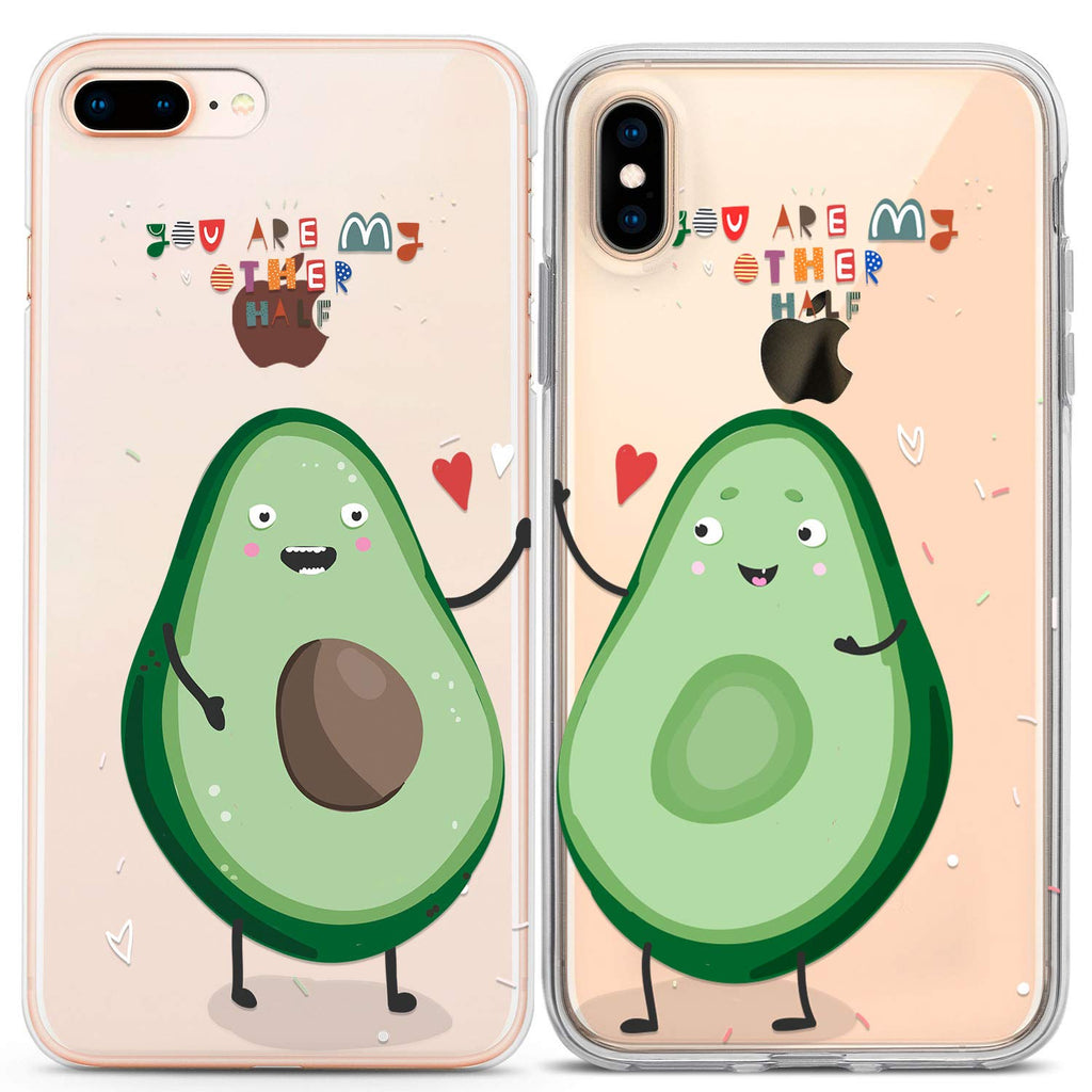 Lex Altern Avocado Love Phone Case 2 Pack Set (For Various Types)