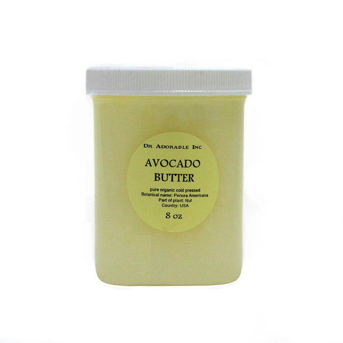 Dr Adorable Avocado Pure Organic Raw Butter: 8 oz