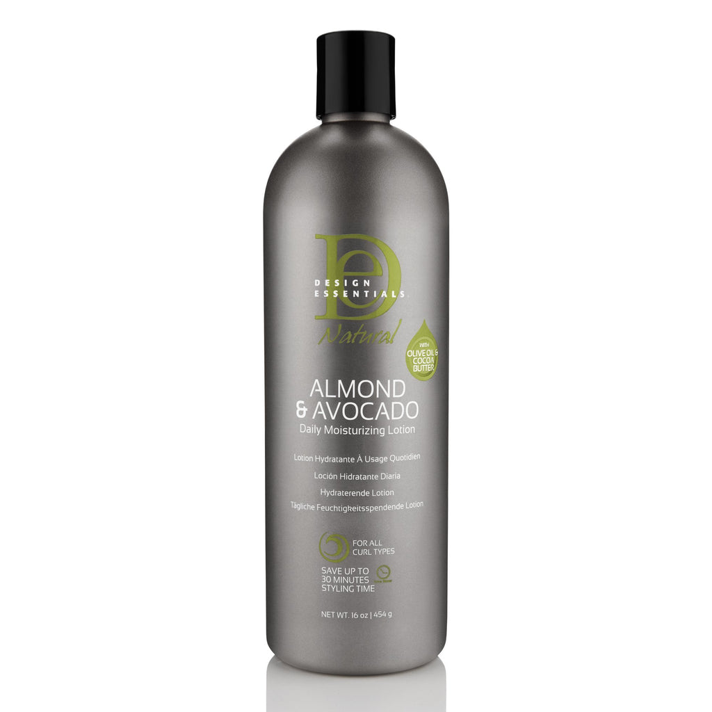 Design Essentials Avocado & Almond Moisturizing Lotion For Curly Hair