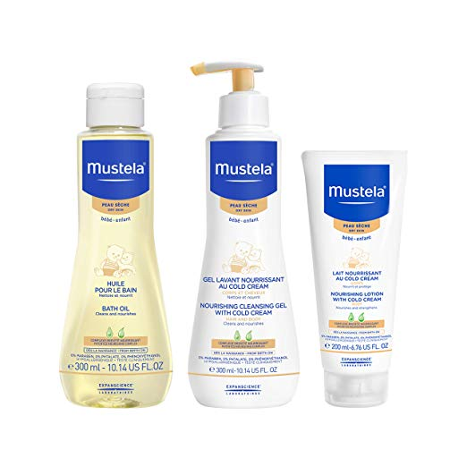 Mustela Baby Bath Time Gift Set for Dry Skin