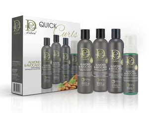 Design Essentials Avocado & Almond Hair System For Curly Hair