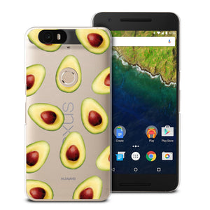 CasesByLorraine Avocado Phone Case For Huawei Nexus 6P
