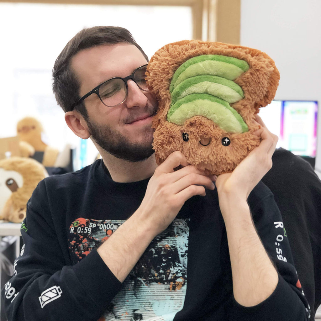 Squishable Avocado Toast Soft Toy Plush: 7""